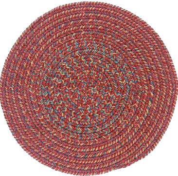 Colonial Mills, Inc. Adams 4 X 4 Round Rosewood Mix Area Rugs