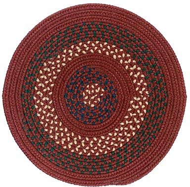Colonial Mills, Inc. Deerfield 6 X 6 Round Deep Russet Area Rugs