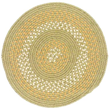 Colonial Mills, Inc. Georgetown 4 X 4 Round Olive Area Rugs
