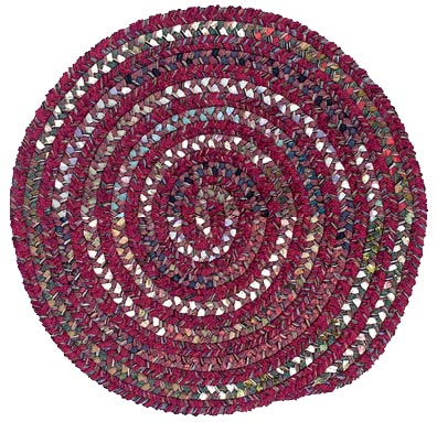 Colonial Mills, Inc. Montage 10 X 10 Round Sangria Area Rugs