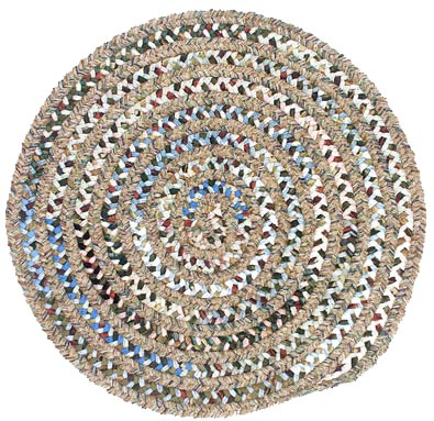 Colonial Mills, Inc. Montage 6 X 6 Round Cafe Tostado Area Rugs