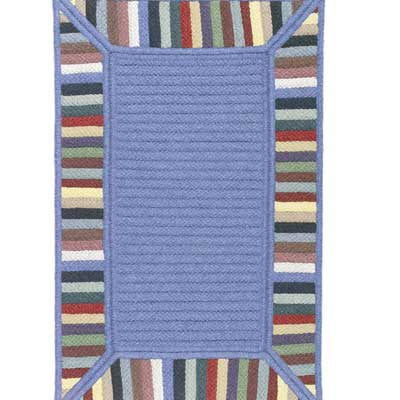 Colonial Mills, Inc. Reflections 12 x 15 Multi Border Area Rugs