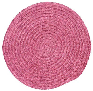 Colonial Mills, Inc. Spring Meadow 8 X 8 Round Silken Rose Area Rugs