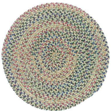 Colonial Mills, Inc. Twilight 6 X 6 Round Palm Area Rugs
