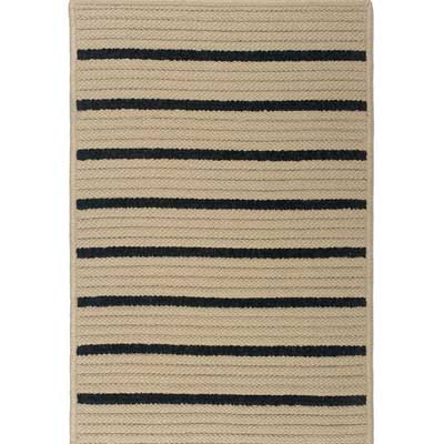 Colonial Mills, Inc. Ventura 12 x 15 Wide Textured Stripe Area Rugs