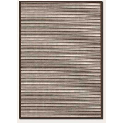 Couristan Five Seasons 8 x 11 Muskego Cream Chocolate Brown Area Rugs