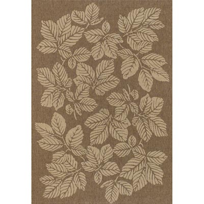 Couristan Five Seasons 6 x 9 Rio Mar Gold Cream Area Rugs