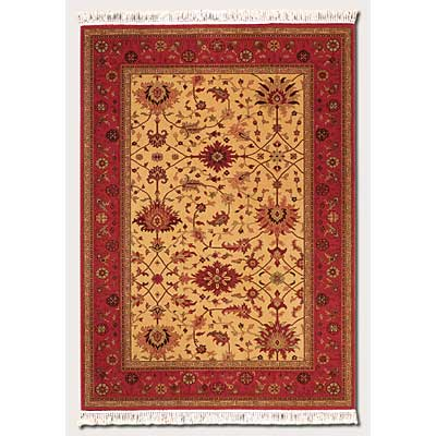 Couristan Gem 10 x 14 Khorasan Brick Red Area Rugs