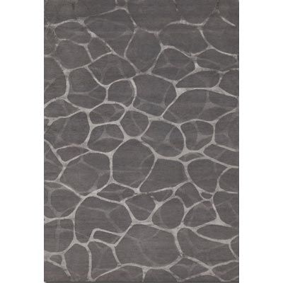 Couristan Impressions 10 x 14 Flagstone Grey Silver Area Rugs