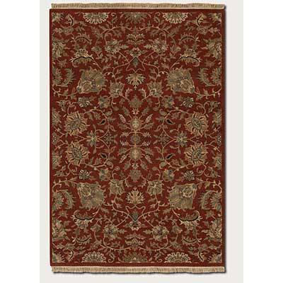 Couristan Jangali 9 x 13 All Over Tabriz Rust Area Rugs