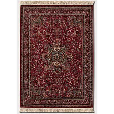 Couristan Kashimar 10 x 14 All Over Center Medallion Antique Red Area Rugs