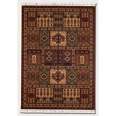 Couristan Kashimar 10 x 14 Antique Nain Burgundy Area Rugs