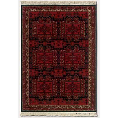 Couristan Kashimar 10 x 14 Oushak Brick Red Area Rugs