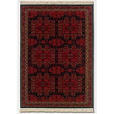 Couristan Kashimar 10 x 14 Oushak Brick Red Area Rugs