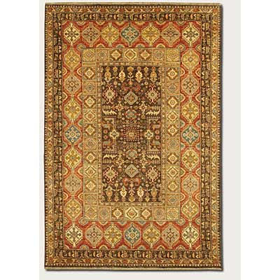 Couristan Lahore 8 x 12 Marasali Brown Rust Area Rugs