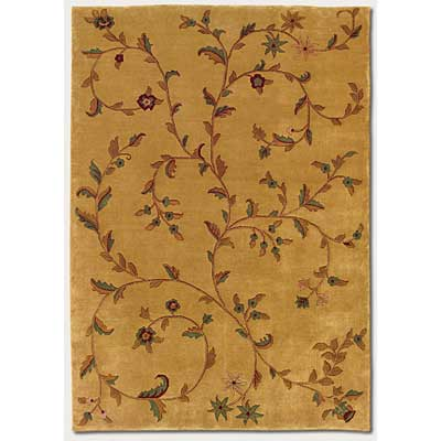 Couristan Pokhara 10 x 13 Eden Golden Curry Area Rugs