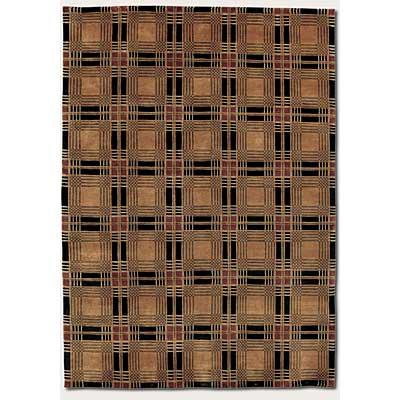 Couristan Pokhara 10 x 13 Frameworks Bronze Area Rugs