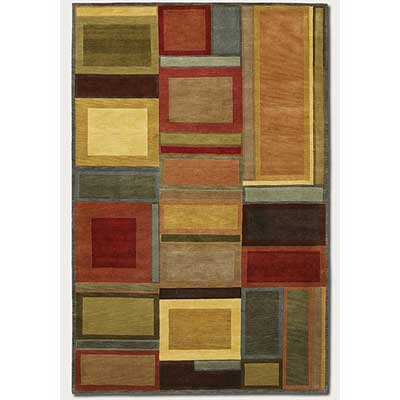 Couristan Pokhara 10 x 13 Iridescent Blocks Area Rugs
