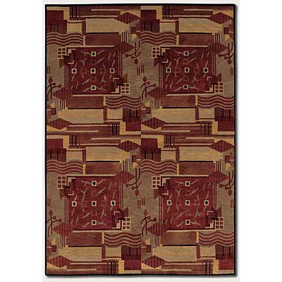 Couristan Pokhara 10 x 13 Revelation Burnished Earthtones Area Rugs