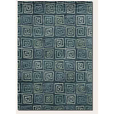 Couristan Pokhara 10 x 13 Serpentine Blue Area Rugs