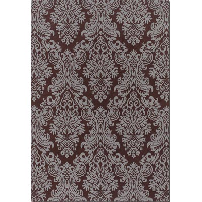 Couristan Pokhara 4 x 6 Sistine Chocolate Slate Area Rugs