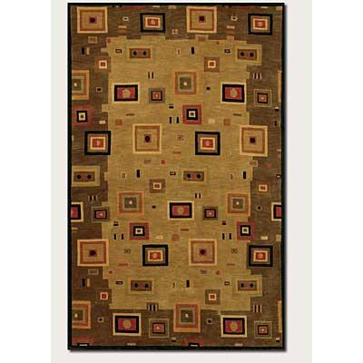 Couristan Pokhara 10 x 13 Timberlake Multi Earthtones Area Rugs
