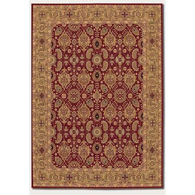 Couristan Royal Kashimar 10 x 14 All Over Vase Persian Red Area Rugs
