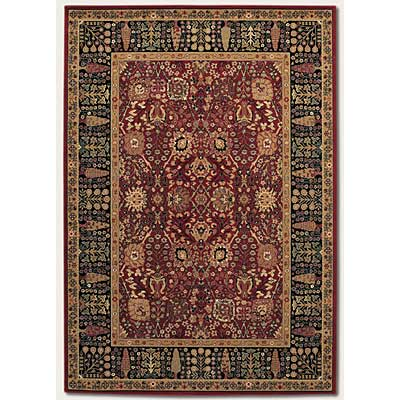 Couristan Royal Kashimar 10 x 14 Cypress Garden Persian Red Area Rugs