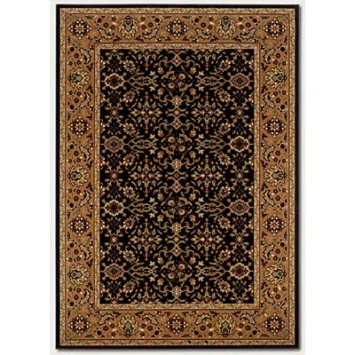 Couristan Royal Kashimar 10 x 14 Ushak Black Deep Maple Area Rugs