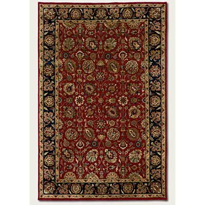 Couristan Shiraz 10 x 13 All Over Floral Persian Red Area Rugs