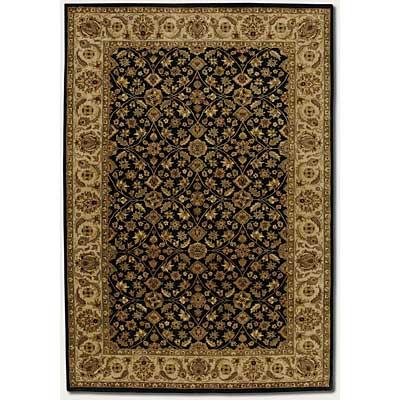 Couristan Shiraz 8 x 11 Injilas Ebony Area Rugs