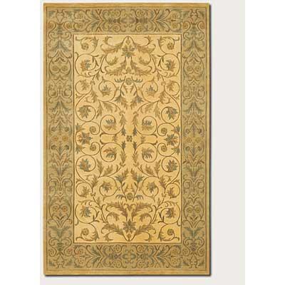 Couristan Silken Treasures 8 x 11 Ambrosia Berber Ivory Area Rugs