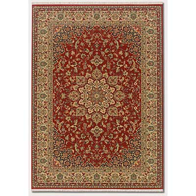 Couristan Taj Mahal 8 x 12 All-Over Center Medallion Rose Bud Area Rugs