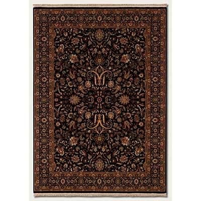 Couristan Taj Mahal 8 x 12 Royal Ispaghan Black Area Rugs