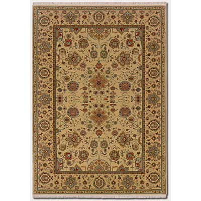 Couristan Taj Mahal 10 x 14 Tabriz Autumn Wheat Area Rugs