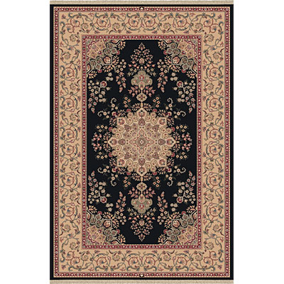 Dynamic Rugs Brilliant 10 x 13 Black Area Rugs