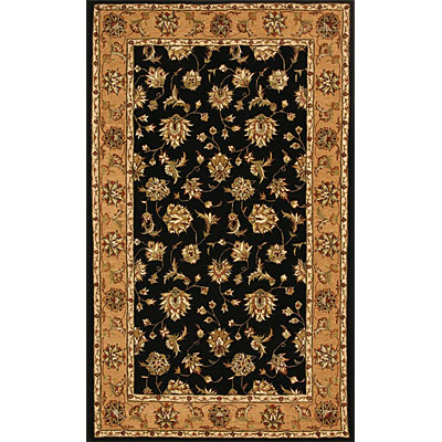 Dynamic Rugs Jewel 10 x 14 Black Camel Area Rugs