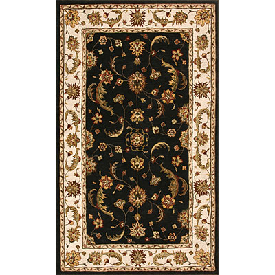 Dynamic Rugs Jewel 10 x 14 Charcoal Beige Area Rugs