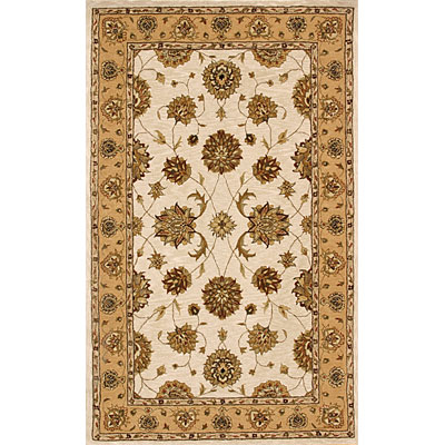 Dynamic Rugs Jewel 10 x 14 Ivory-Gold Area Rugs