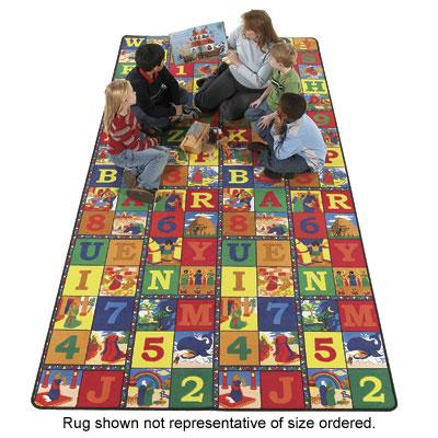 Flagship Carpets Bible Blocks 12 x 15 Bible Blocks Area Rugs