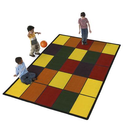 Flagship Carpets Grid 8 x 11 Grid Area Rugs