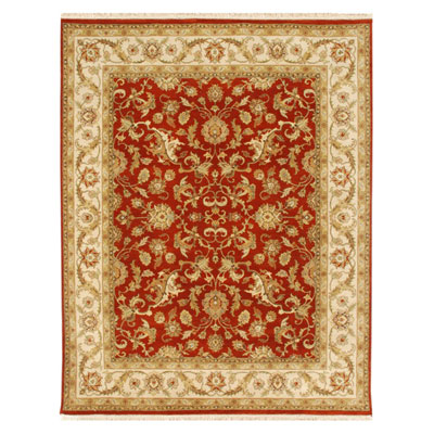 Jaipur Rugs Inc. Atlantis 6 x 9 Padma Red Oxide/Soft Gold Area Rugs
