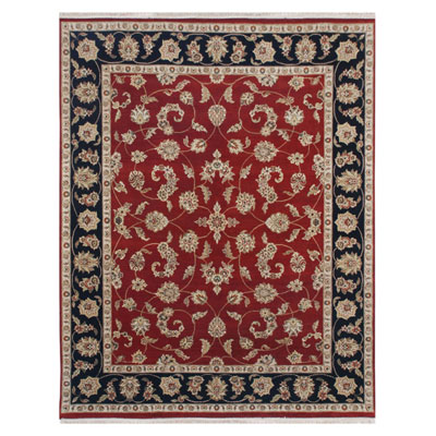 Jaipur Rugs Inc. Atlantis 8 x 10 Bhommi Red/Ebony Area Rugs