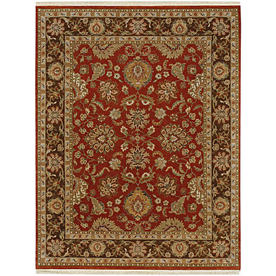 Jaipur Rugs Inc. Atlantis 8 x 10 Badsha Rust/Tobacco Area Rugs