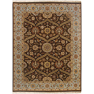 Jaipur Rugs Inc. Atlantis 8 x 10 Pani Tobacco/Ice Blue Area Rugs