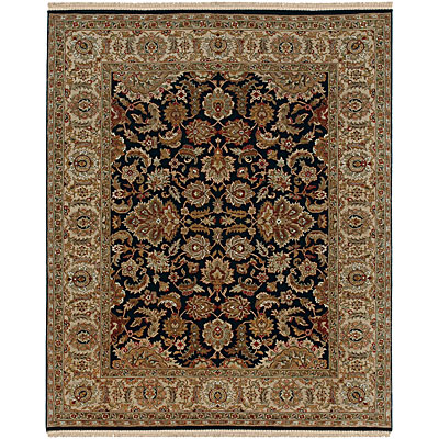 Jaipur Rugs Inc. Atlantis 6 x 9 Taj Ebony/Sand Area Rugs