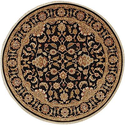 Jaipur Rugs Inc. Atlantis 10 Round Taj Ebony/Ebony Area Rugs