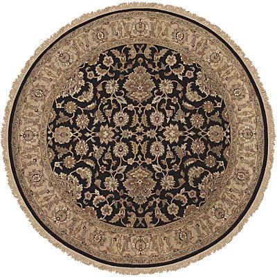 Jaipur Rugs Inc. Atlantis 8 Round Taj Ebony/Sand Area Rugs