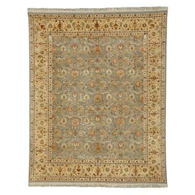 Jaipur Rugs Inc. Aurora 6 x 9 Celeste Medium Blue/Soft Gold Area Rugs