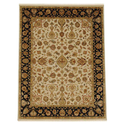 Jaipur Rugs Inc. Aurora 8 x 10 Edonia Medium Ivory/Ebony Area Rugs